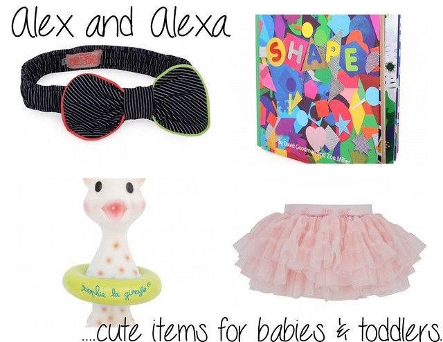 Baby Goodies from Alex and Alexa