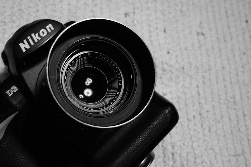 LEITZ WETZLAR SUMMICRON-R 50mm/F2 2-cam)