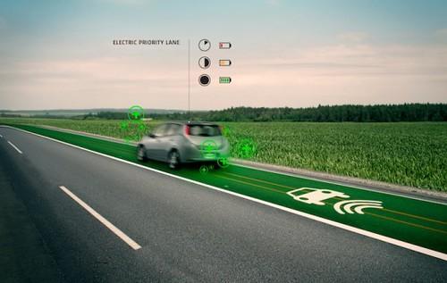 Умное шоссе будет заряжать электромобили