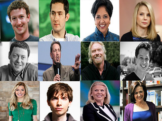 12 inspiring business people