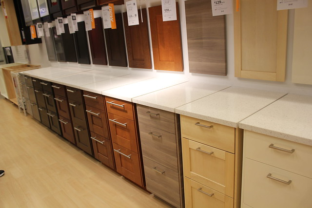 Why do most people use white ikea cabs - Ikea beech kitchen cabinets ...