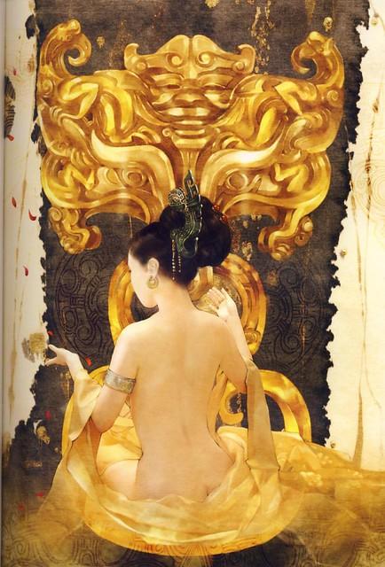 東方畫姬~德珍 老師 古代美女圖
