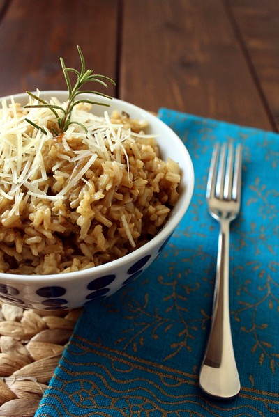 9705635848 0777f41412 z Secret Recipe: Rosemary Parmesan Rice