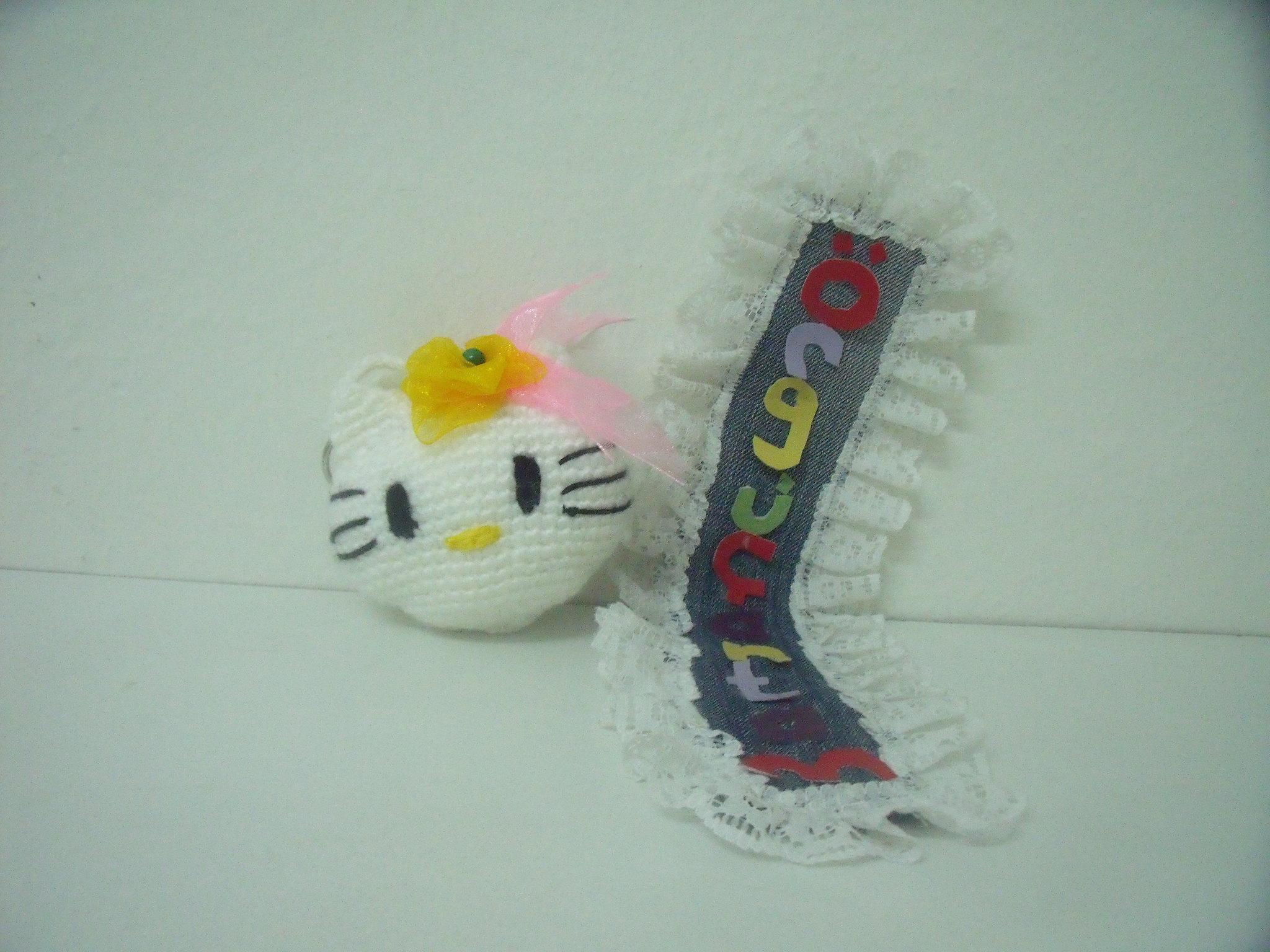 Amigurumi Örgü Oyuncak Tekniğiyle Yapılmış Hello Kitty Modeli ... | 1536x2048