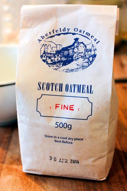 Scotch Oatmeal Fine, Aberfeldy Oatmeal, Kelso Mills