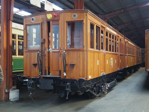 Motrice M1 de 1900 - 15 septembre 2013 (100 ans de patrimoine roulant RATP - JDP - rue du Tgv - Villeneuve-Saint-Georges)