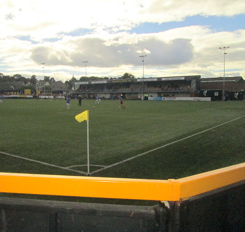 Recreation  Park, Main Stand from Railway End