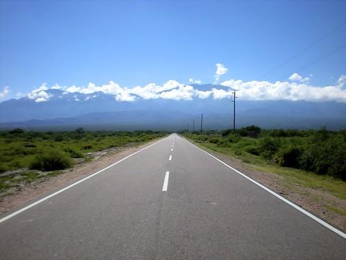 The original Blue Lollipop Road: Cafayete, Argentina