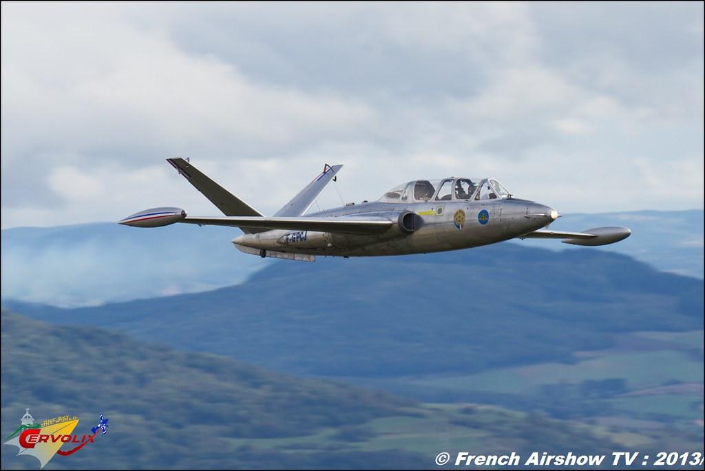 Fouga Magister F-GPCJ a Cervolix 2013