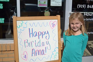 Anna's 7th Birthday Party