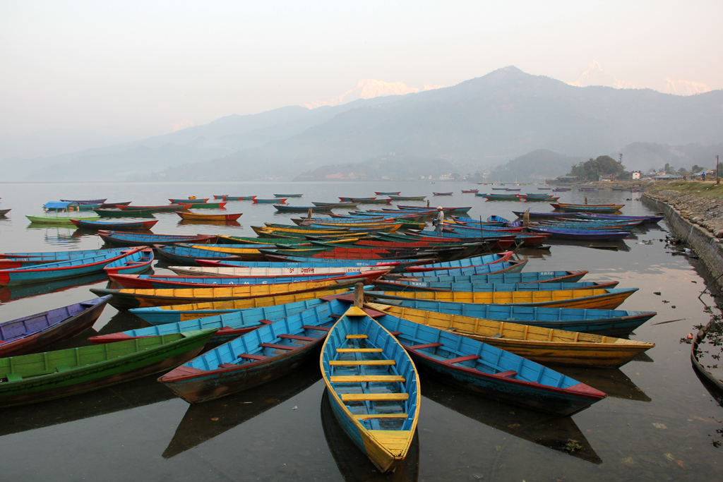 Phew Lake in Pokhara