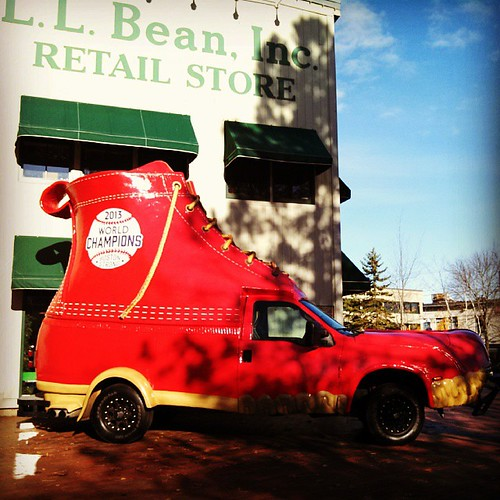 #RedSox #LLBean boot mobile #BostonStrong