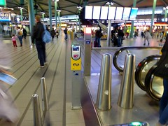 OV-Chipkaart Reader at Schiphol Airport