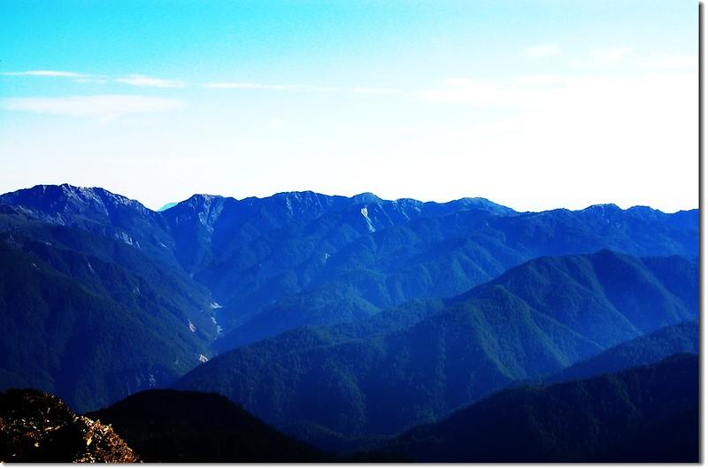南三段(From 馬利亞文路山東峰北望)