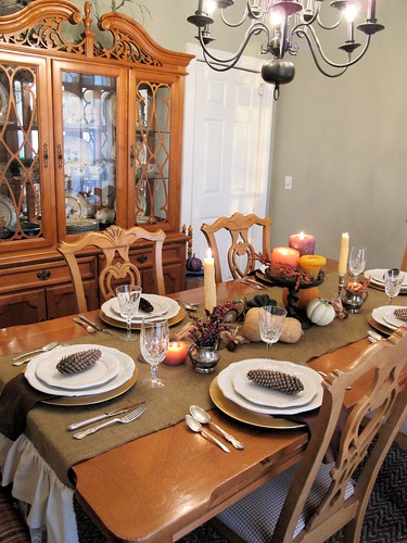 Turkey Tablescapes