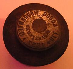 1857 All Goods Warranted die