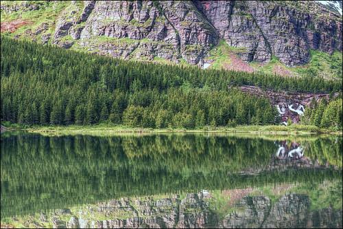 Redrock Lake - Glacier National Park