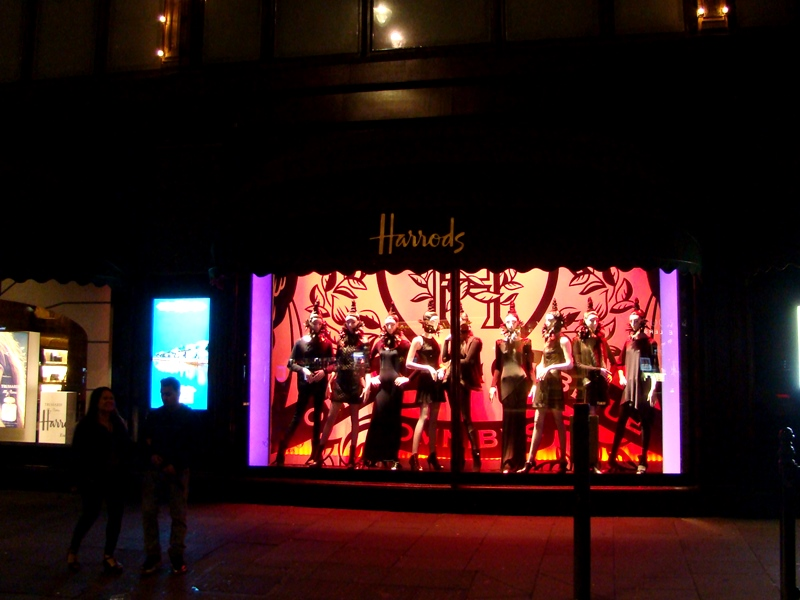 Harrods windows