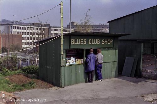 Blues Club Shop 21.04.1990