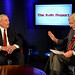 Dan Rather and Marvin Kalb Speaking During the Kalb Report at the National Press Club by SamHardgrove