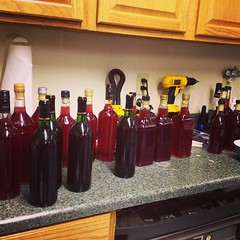 One batch corked, another to go...