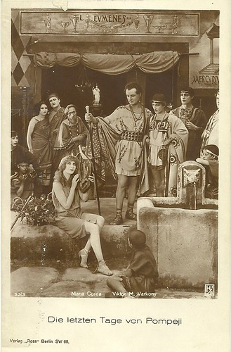 Maria Corda and Victor Varconi in The Last Days of Pompeii (1926)