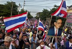 Protests in Bangkok, Thailand