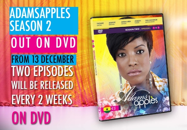 Adams Apples Season 2 DVD