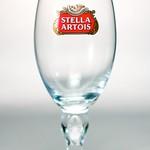 ベルギービール大好き!!【ステラ・アルトワの専用グラス】(管理人所有 )