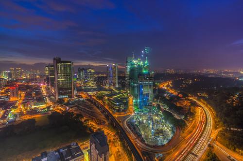 Futuristic Nights | Kuala Lumpur | HDR