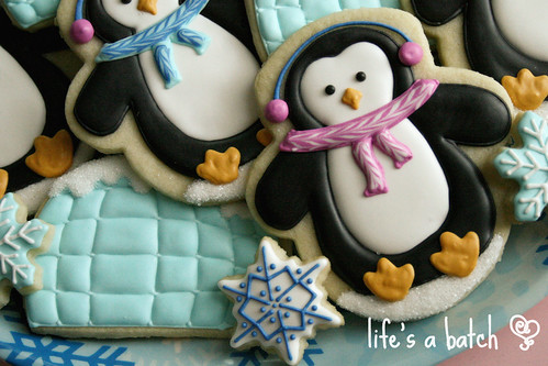Penguin & Igloo cookies.