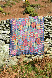 Twinkle, Twinkle Little Star Crochet Blanket by Amanda Perkins