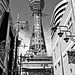 Tsutenkaku Tower B&W