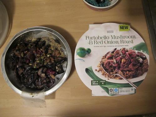 M&S Portobello mushroom & red onion nut roast