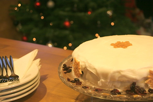 Mouth watering Christmas cake!