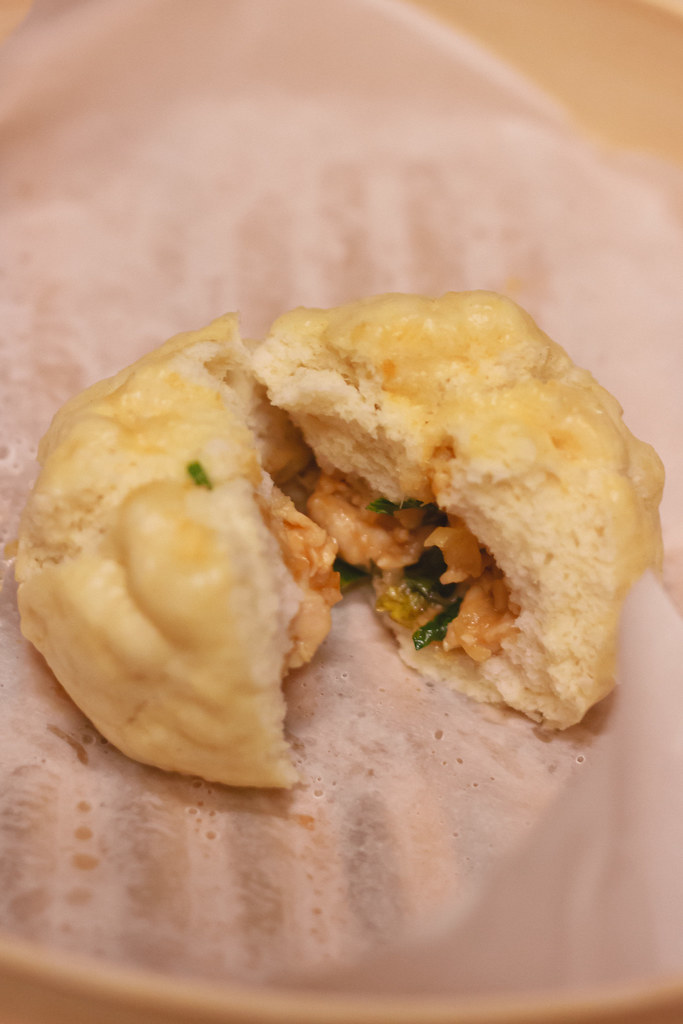 {steamed chicken buns}