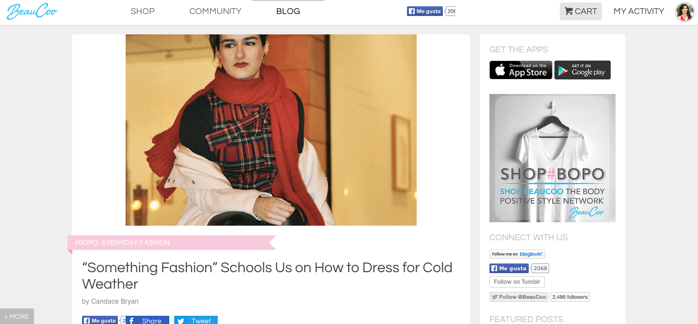 beaucoo community fashion blogger spanish, winter cold style fashion, something fashion blog mode