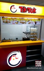 Tik-Tok Food Cart