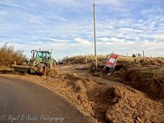 Brancaster Tidal Surge Flood Damage