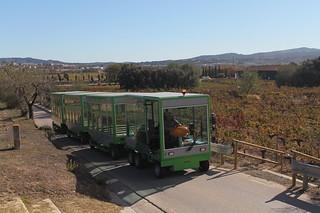 El tren eléctrico-solar.