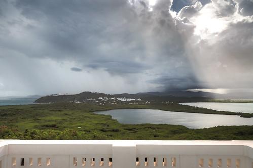 light naturaleza sun storm sol water rain clouds canon faro lluvia day view puertorico balcony bluesky lagoon nubes 7d vista pr caribbean marsh rays laguna fajardo hdr crepuscular mangle lascabezas fideicomiso