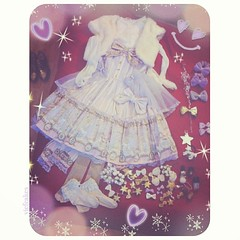 My outfit for Christmas 2013. {plus all possible accessories, which I didn't use all (•̀ᴗ-)}