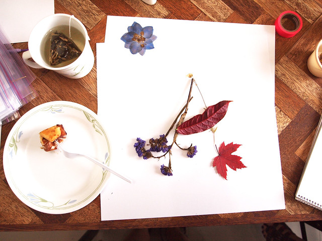 Flower Pressing Workshop