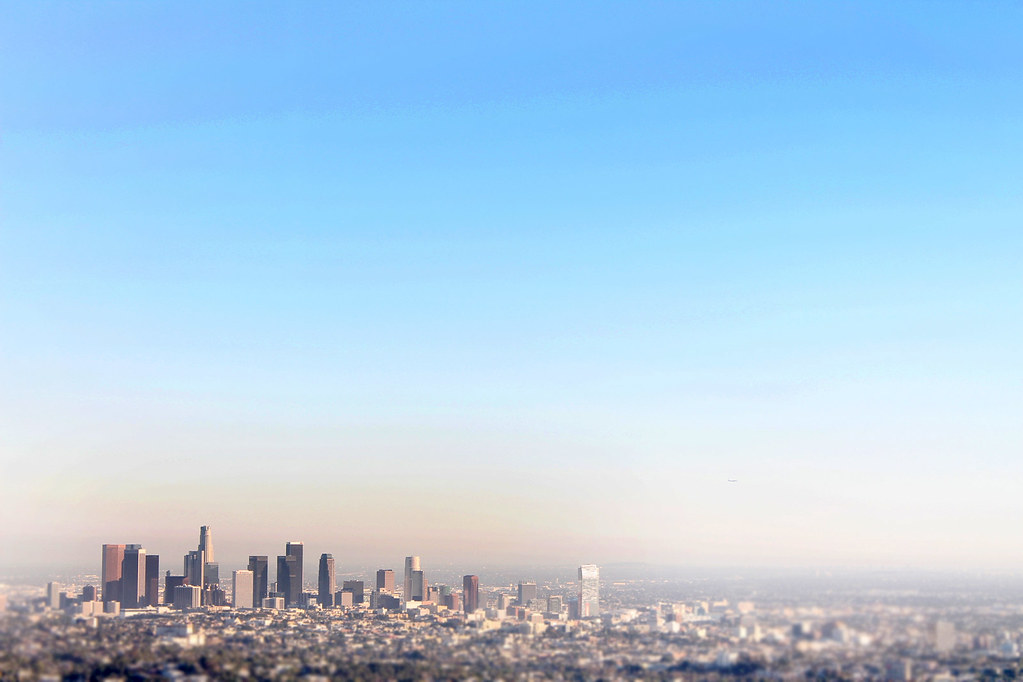 los angeles from griffith observatory