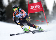 Kirk Schornstein in action during the IPC World Cup in Panorama, CAN