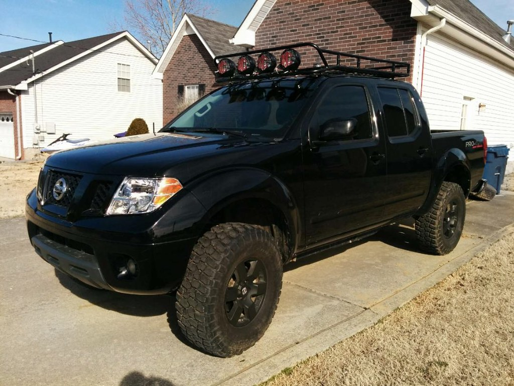 Nissan Frontier Full Replacement Roof Rack Crew Cab