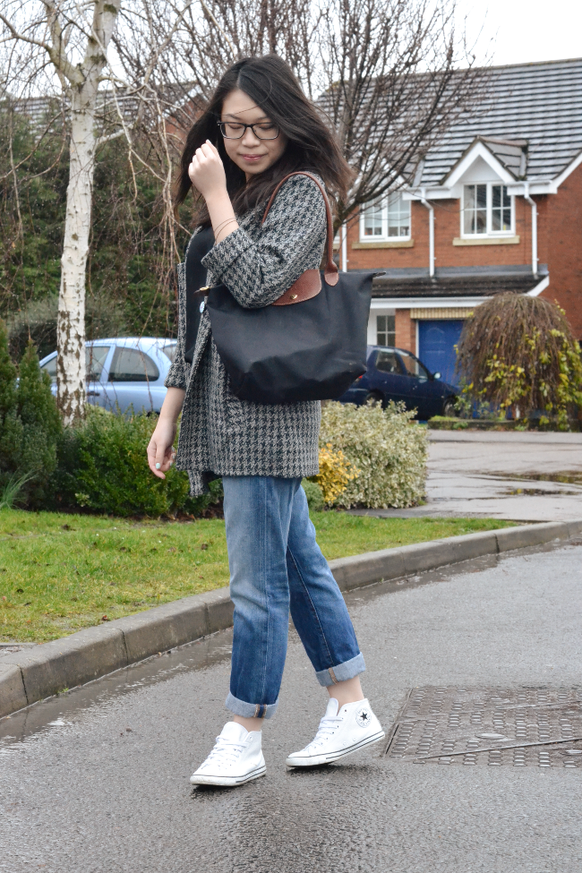 Daisybutter - UK Style and Fashion Blog: what i wore, uk fashion blogger, daily style blog, how to style boyfriend jeans