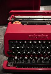 Olivetti Ettore Sottsass Valentine Typewriter