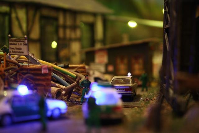 Schrotthandel mit Polizei