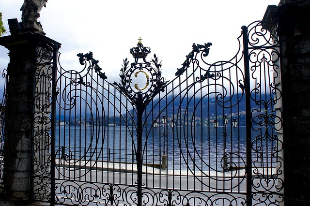 Gate at Villa Carlotta